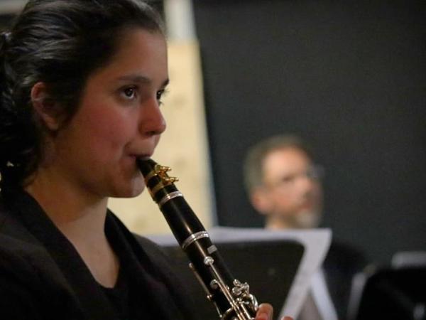 Selene Gutierrez, clarinetista